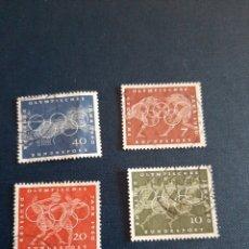 Sellos: 1960 ALEMANIA SELLOS OLÍMPICOS USADO. Lote 172335102