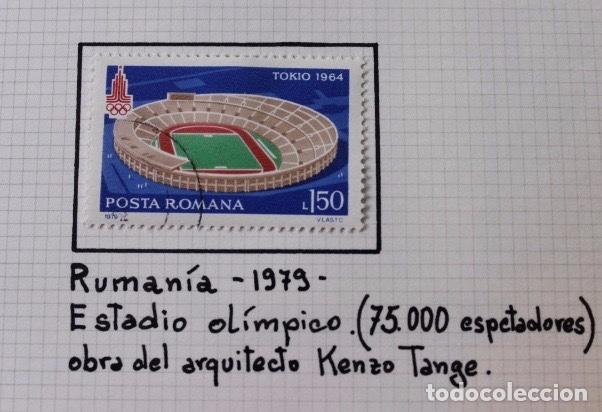 Sellos: Lote 10 sellos olimpiadas de Tokio 1964 - Foto 5 - 194259392