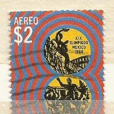 Sellos: MÉXICO - OLIMPIADA DE MÉXICO DE 1968 - USADO - POR FAVOR LEA EL TEXTO, GRACIAS. Lote 176121638
