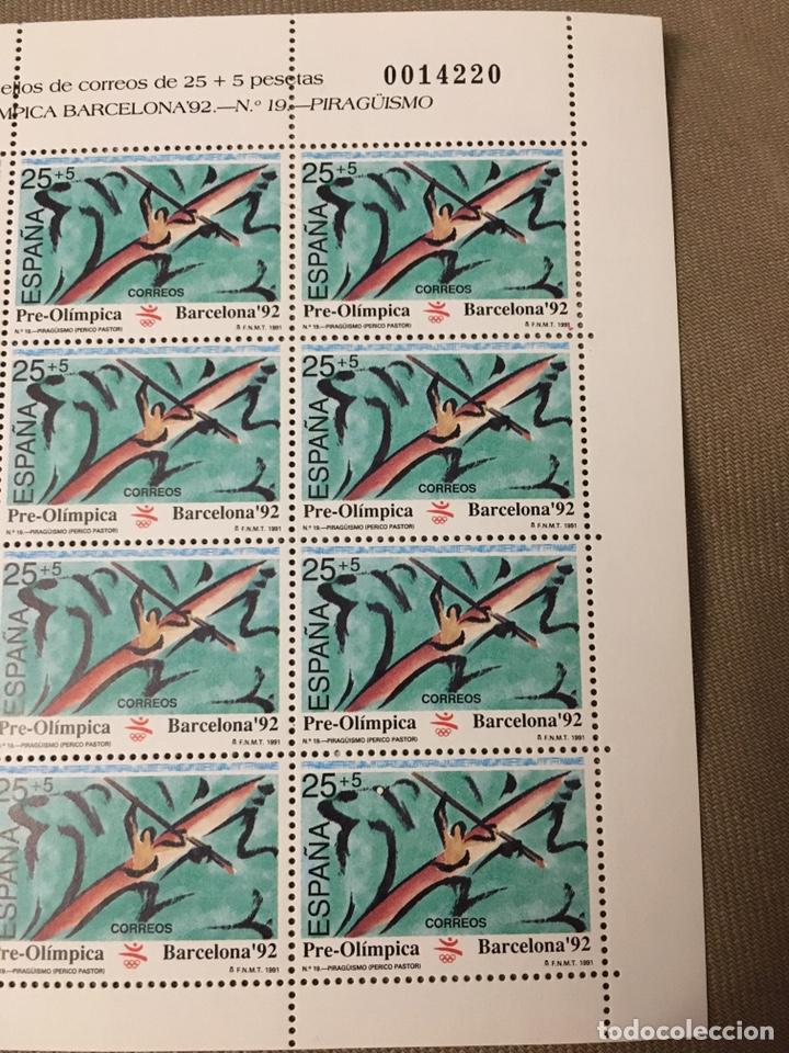Sellos: 4 hojas bloque de 12 sellos deportes Pentatlón Moderno ,REMO,TIRO CON ARCO,PIRAGUISMO - Foto 5 - 180428021