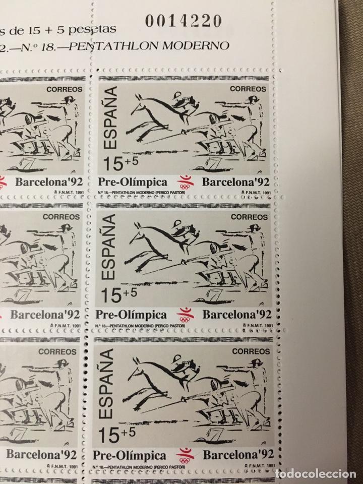 Sellos: 4 hojas bloque de 12 sellos deportes Pentatlón Moderno ,REMO,TIRO CON ARCO,PIRAGUISMO - Foto 6 - 180428021