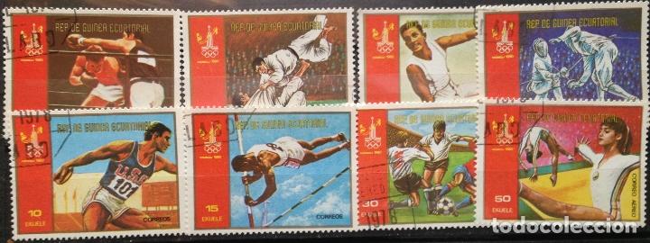 GUINEA ECUATORIAL SELLOS NUEVOS SERIE COMPLETA AÑO 1978 DEPORTES OLIMPIADAS GE-15 (Sellos - Temáticas - Olimpiadas)