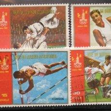 Sellos: GUINEA ECUATORIAL SELLOS NUEVOS SERIE COMPLETA AÑO 1978 DEPORTES OLIMPIADAS GE-15. Lote 181025858