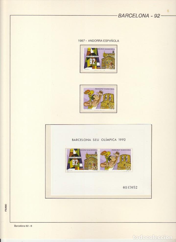 Sellos: BARCELONA-92. - Foto 7 - 184099208
