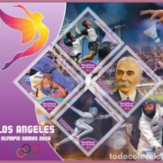 Sellos: STAMPS.LOS_ANGELES_OLYMPICS_GAMES. Lote 185748806