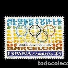 Sellos: ESPAÑA. PAISES OLIMPICOS. Lote 187313180