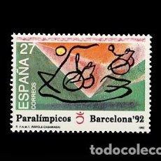 Sellos: ESPAÑA. JUEGOS PARALIMPICOS. Lote 187313181