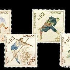 Sellos: MONACO. JJ.OO. TOKIO ´64. Lote 187313203