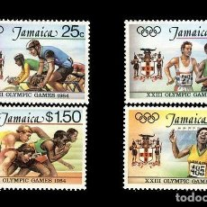 Sellos: JAMAICA. JJ.OO. LOS ANGELES ´84. Lote 187313212