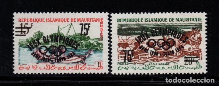 MAURITANIA 154A/54B** - AÑO 1962 - JUEGOS OLIMPICOS DE TOKIO (Sellos - Temáticas - Olimpiadas)