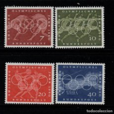 Sellos: ALEMANIA 205/08** - AÑO 1960 - JUEGOS OLIMPICOS DE ROMA. Lote 268169834