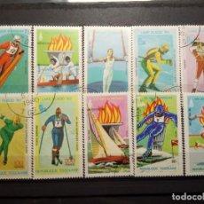 Timbres: OLIMPIADAS 1980, INVIERNO Y VERANO . Lote 190375691