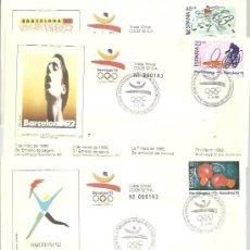 Timbres: MATASELLOS BARCELONA 92. Lote 193792558