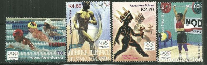 PAPUA Y NUEVA GUINEA 2004 IVERT 1002/05 *** JUEGOS OLIMPICOS DE ATENAS - DEPORTES (Sellos - Temáticas - Olimpiadas)
