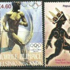 Sellos: PAPUA Y NUEVA GUINEA 2004 IVERT 1002/05 *** JUEGOS OLIMPICOS DE ATENAS - DEPORTES. Lote 193924680
