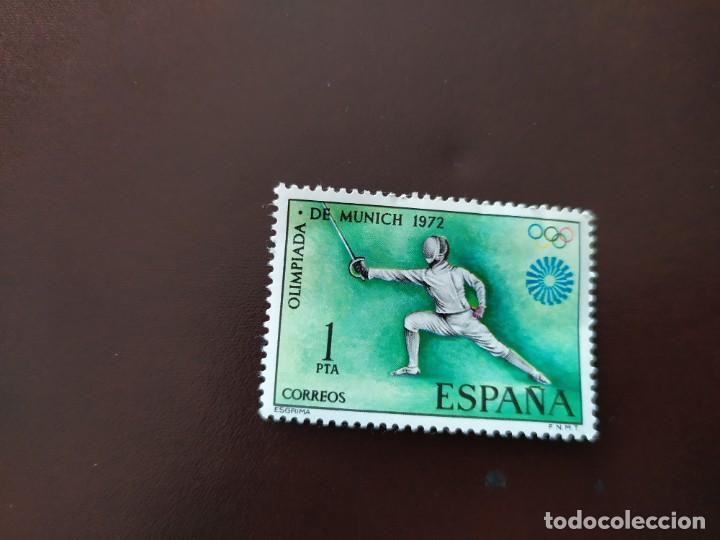 SELLO OLIMPIADA DE MUNICH 1972 (Sellos - Temáticas - Olimpiadas)