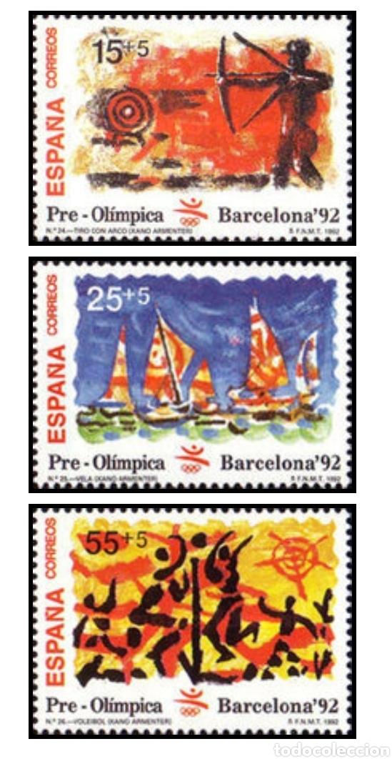 SELLOS EXPO 92 1992 OLYMPIC GAMES - BARCELONA, SPAIN 6. MARZO TAMAÑO DE LA HOJA:12 PERFORACIÓN: (Sellos - Temáticas - Olimpiadas)