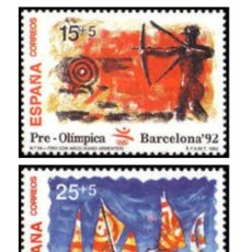 Sellos: SELLOS EXPO 92 1992 OLYMPIC GAMES - BARCELONA, SPAIN 6. MARZO TAMAÑO DE LA HOJA:12 PERFORACIÓN:. Lote 194972760