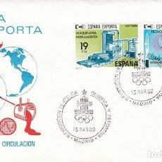 Sellos: AÑO 1980, MADRID, EXPOSICION OLIMPICA Y DEPORTIVA. Lote 206349990