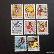 Sellos: POLONIA Nº YVERT 1995/2*** AÑO 1972. JUEGOS OLIMPICOS DE MUNICH. Lote 207141936