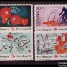 Sellos: OLÍMPIADAS DE BARCELONA 1992 SERIE DE SELLOS NUEVOS DE ESPAÑA 1989. Lote 208133477