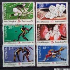 Sellos: OLÍMPIADAS DE BARCELONA 1992 SERIE DE SELLOS NUEVOS DE 1990. Lote 208133668