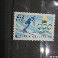 Timbres: SELLOS AUSTRIA (OSTERREICH) NUEVOS/1984/JUEGOS/OLIMPIADAS/PARAOLIMPIADAS/ESQUI/DEPORTE/INNSBRUCK/. Lote 212939542