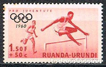 RUANDA URUNDI Nº 172, JUEGOS OLIMPICOS DE ROMA, NUEVO (Sellos - Temáticas - Olimpiadas)