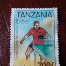 Sellos: TANZANIA TABLE TENNIS BARCELONA 1992. Lote 215307861
