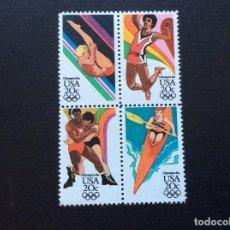 Sellos: ESTADOS UNIDOS Nº YVERT 1528/1*** AÑO 1984. JUEGOS OLIMPICOS DE VERANO, EN LOS ANGELES (II). Lote 215964812