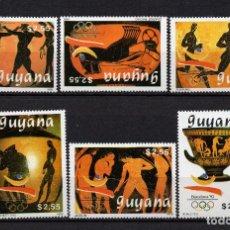 Sellos: GUYANA 2151D/51J** - AÑO 1989 - JUEGOS OLIMPICOS, BARCELONA 92. Lote 217931951
