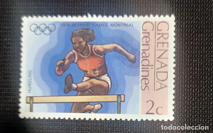 GRENADA SELLO OLIMPIADA 1976 (Sellos - Temáticas - Olimpiadas)