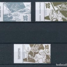 Sellos: BIELORUSIA 2012 IVERT 804/6 *** JUEGOS OLÍMPICOS DE LONDRES - DEPORTES. Lote 220087181