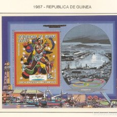 Sellos: REPUBLICA DE GUINEA 1987. SELLOS DEDICADOS A LOS JJ.OO. BARCELONA 1992. Lote 221575118