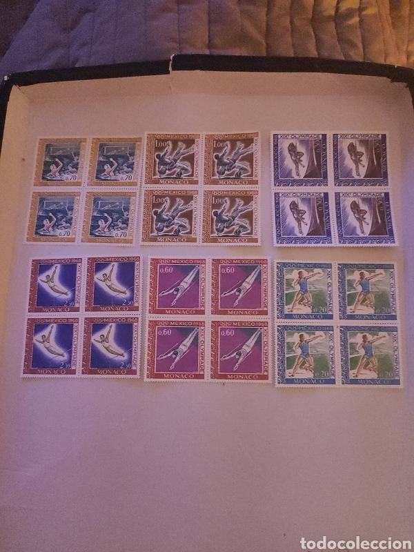 SELLOS MONACO 1968 N° Y&T 736/741 OLIMPIADAS (Sellos - Temáticas - Olimpiadas)