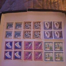 Sellos: SELLOS MONACO 1968 N° Y&T 736/741 OLIMPIADAS. Lote 223140180