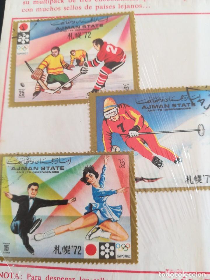 Sellos: Set sellos Ajmat State 1972 olímpicos con Nestle - Foto 2 - 225132673
