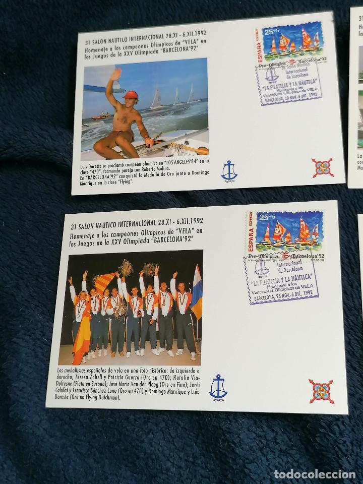 Sellos: España Salon Nautico Regatistas Olimpicos año 1992 - Foto 2 - 235458855