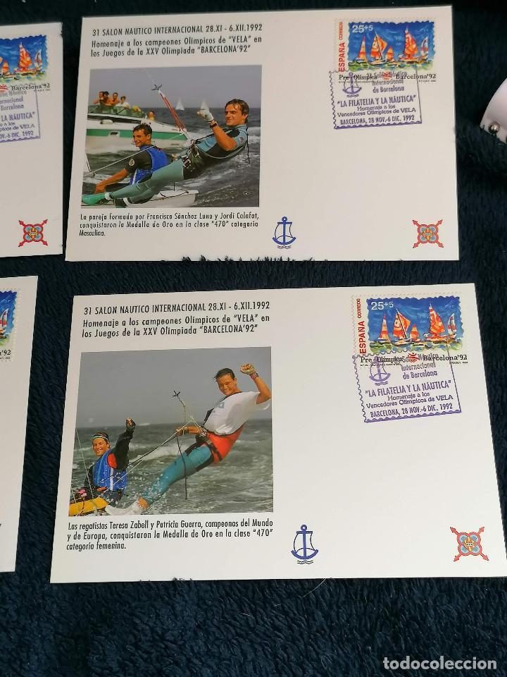 Sellos: España Salon Nautico Regatistas Olimpicos año 1992 - Foto 3 - 235458855