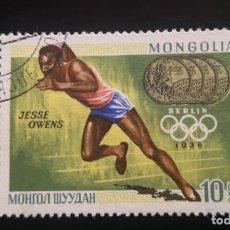 Sellos: MONGOLIA 1969 MEDALLAS DE ORO DE LOS JUEGOS OLÍMPICOS - DEPORTES. Lote 239905125