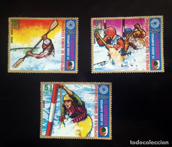 GUINEA ECUATORIAL-XX JUEGOS OLIMPICOS-AUGSBURGO 72 (Sellos - Temáticas - Olimpiadas)