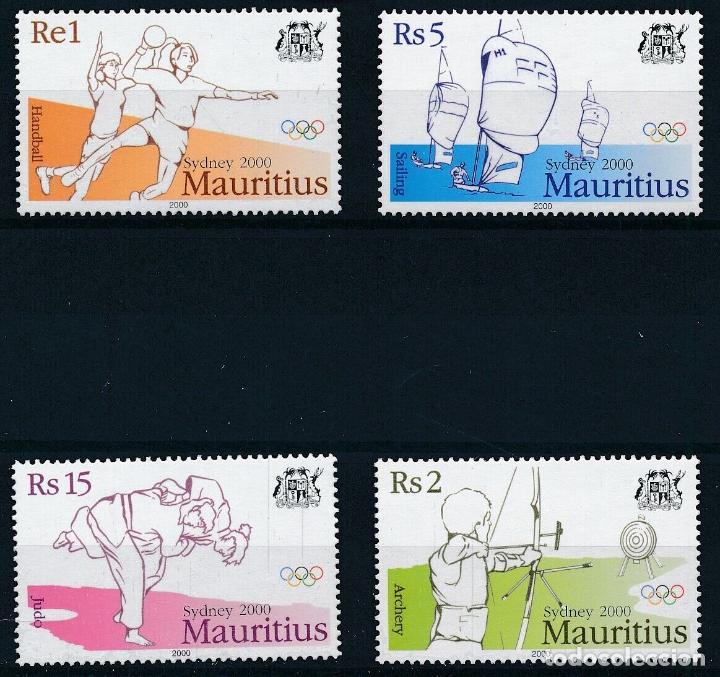 MAURICIO 2000 IVERT 961A/D *** JUEGOS OLÍMPICOS DE SYDNEY - DEPORTES (Sellos - Temáticas - Olimpiadas)