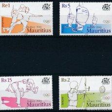 Sellos: MAURICIO 2000 IVERT 961A/D *** JUEGOS OLÍMPICOS DE SYDNEY - DEPORTES. Lote 240665175