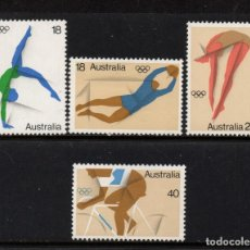 Timbres: AUSTRALIA 591/94** - AÑO 1976 - JUEGOS OLIMPICOS DE MONTREAL. Lote 243414090