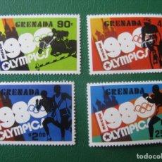 Sellos: *GRENADA, JUEGOS OLIMPICOS DE MOSCU 1980. Lote 243917060