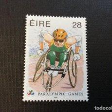 Sellos: IRLANDA Nº YVERT 936*** AÑO 1996.JUEGOS PARALIMPICOS. Lote 243920050