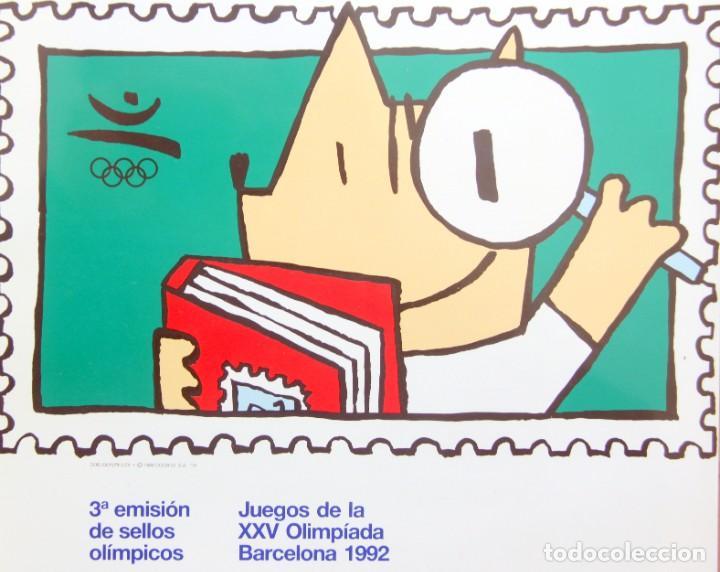 Sellos: Barcelona 92-3 Emisiones SERIES Olimpicas: LITOGRAFIAS + Pruebas Artista Numeradas+SELLOS y TARJETAS - Foto 4 - 243507490