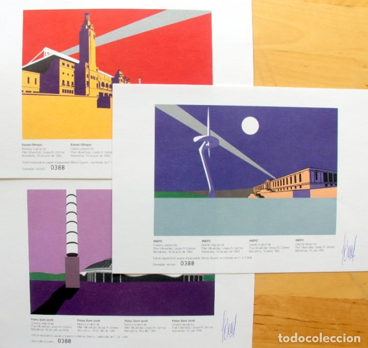 Sellos: Barcelona 92-3 Emisiones SERIES Olimpicas: LITOGRAFIAS + Pruebas Artista Numeradas+SELLOS y TARJETAS - Foto 8 - 243507490