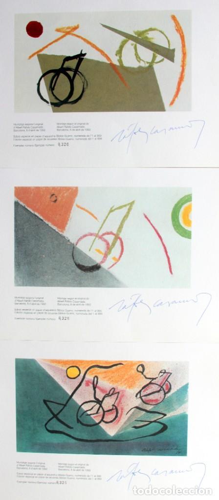 Sellos: Barcelona 92-SERIE Paralimpica: LITOGRAFIAS + Pruebas Artista Numeradas RAFOLS CASAMADA - Foto 12 - 243507505