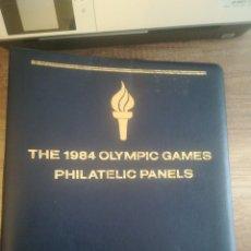 Sellos: THE 1984 OLYMPIC GAMES PHILATELIC PANNELS., + CONMEMORATIVO IWO JIMA.. Lote 246486395